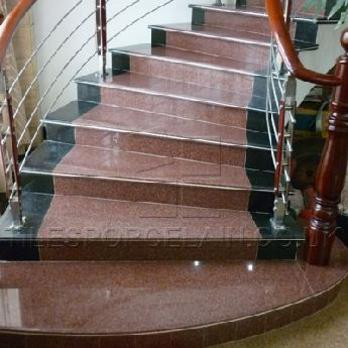 Granite Staircases Tilesporcelain Co Uk