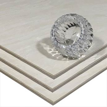 Ivory Marble Effect Polished Porcelain Tiles