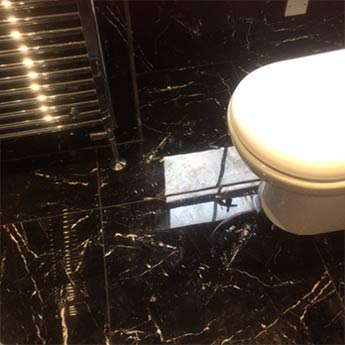 Carrara Black Marble Effect Porcelain Tiles