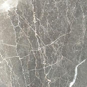 Lightning Grey Marble Effect Polished Porcelain