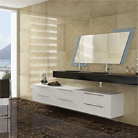 Spanish Emperador Brown Marble Effect Porcelain