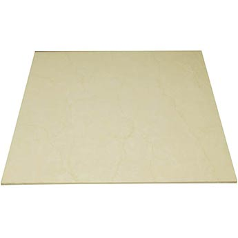 Flat Cream Polished Porcelain Tiles