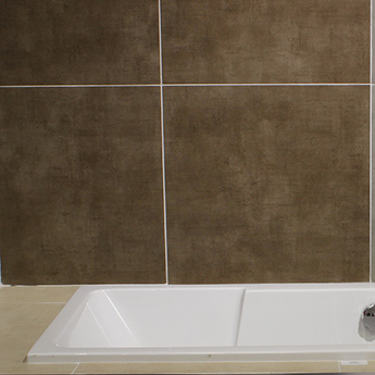 Brown Matt Textile Porcelain Tile