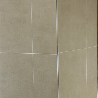 Cream Matt Textile Porcelain Tile