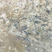 Premium Matt Cream, Silver, Multi Travertine Tile (Managers Special)