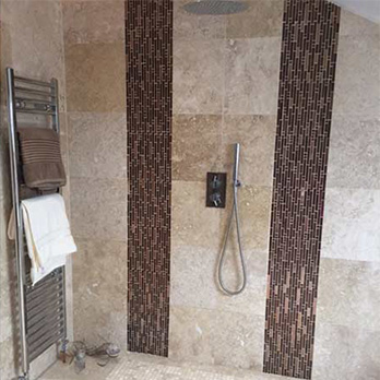 Fossil Travertine Tiles