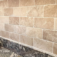 Travertine White Large Brick