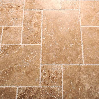 Light French Chipped Edge Travertine Pattern Sets