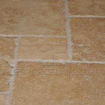 Light Travertine Tiles French Pattern Set Tilesporcelain