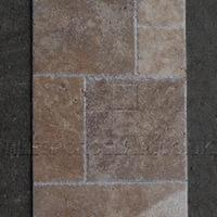 http://www.tilesporcelain.co.uk/Medium French Chipped Edge Travertine Pattern Set