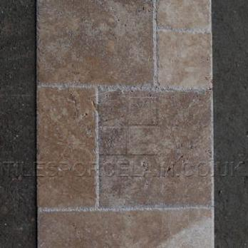 Medium French Chipped Edge Travertine Pattern Sets