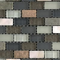 Winter Pearl Glass Mosaic Tiles