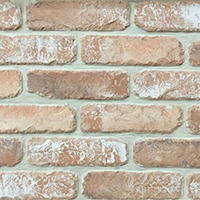Reclaimed Cream Rustic Handmade Vintage Brickslip