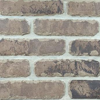 Brown Rustic Handmade Vintage Brickslip