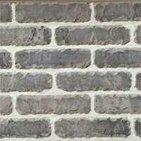 Grey Rustic Handmade Vintage Brickslip