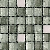 Crackled Day Glass Mosaic Tiles