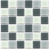 Crystalline Cloud Mix Mosaic Tiles