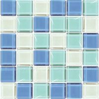 Crystalline Ocean Mix Mosaic Tiles
