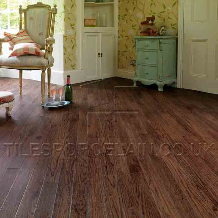 Dark Oak Engineered Wood Flooring
