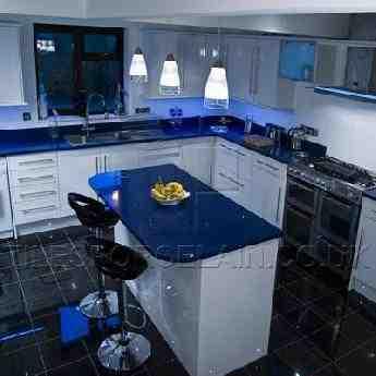 Quartz Worktops Sparkly Kitchen Counter Tilesporcelain